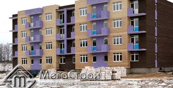 Строительство жилых домов микрорайона Анискино в Щелковском районе, Московская область: 2014-2015 г.
