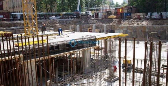 Строительство жилого дома с подземной автостоянкой 2013г. Адрес: г. Москва ул. Барклая вл.7 корп. 12