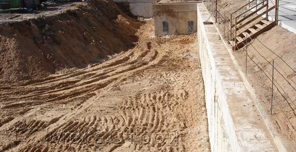 Ограждение котлована методом стена в грунте и устройство распорного крепления для жилого дома по адресуул. Щукинская, вл.8 в 12г